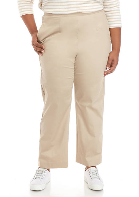 Alfred Dunner Plus Size Cottage Charm Pants