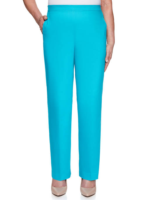 Alfred Dunner Petite Easy Street Proportioned Average Pants