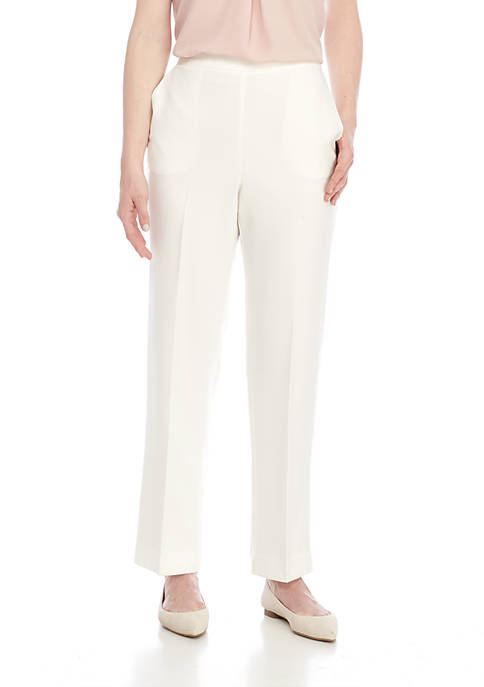 Alfred Dunner Roman Holiday Short Pull-On Trousers