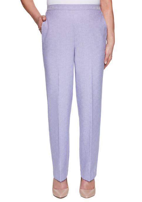 Alfred Dunner Petite Nantucket Proportioned Short Pants