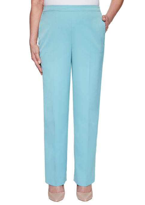 Alfred Dunner Petite Chesapeake Bay Proportioned Average Pants