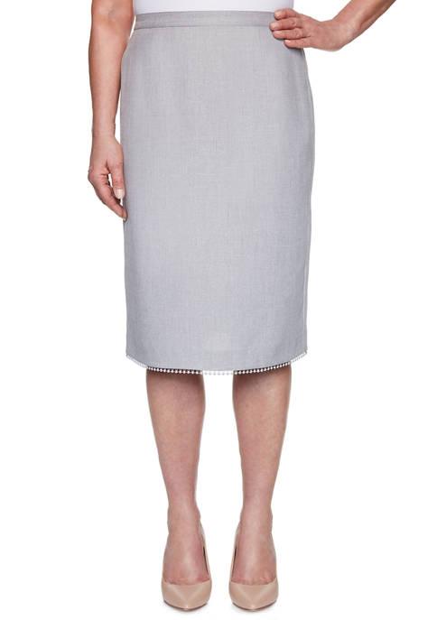 Alfred Dunner Womens Primrose Garden 2020 Skirt