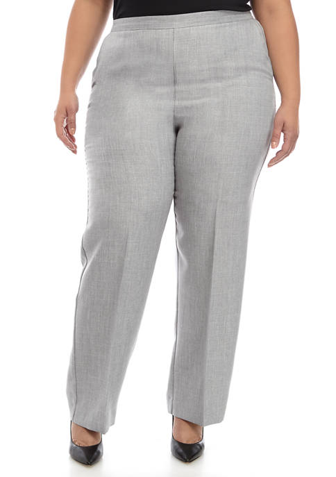 Alfred Dunner Plus Size Proportioned Pants