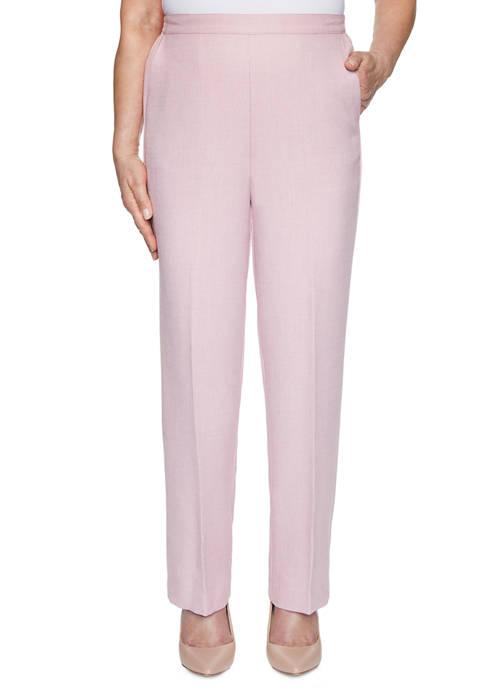 Alfred Dunner Petite Primrose Garden Proportioned Short Pants