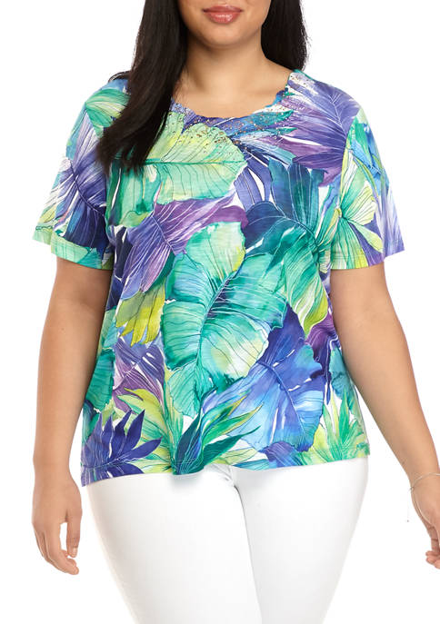 Alfred Dunner Plus Size Costa Rica 2020 Short