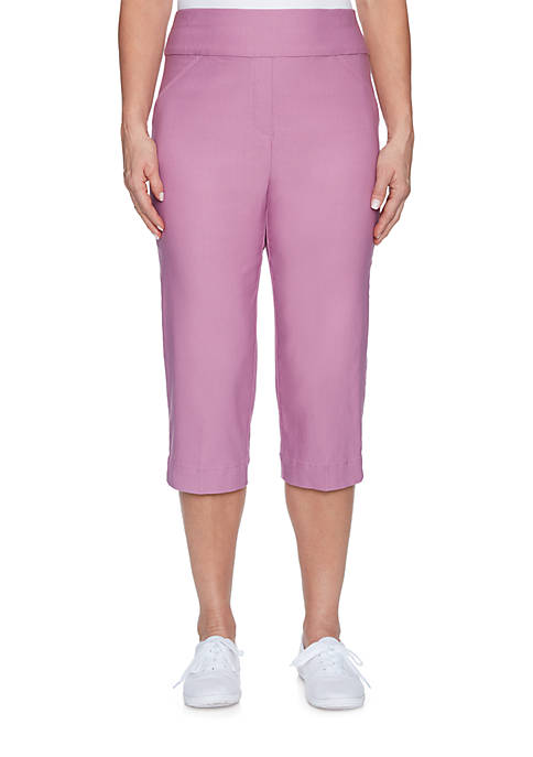 Alfred Dunner Los Cabos Allured Stretch Pants