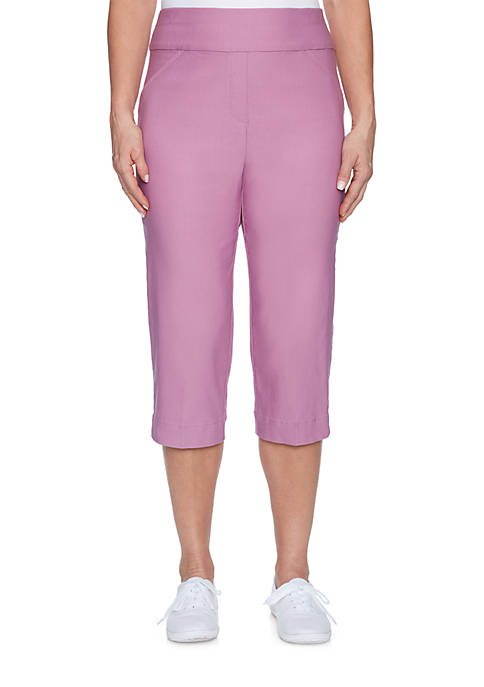 Alfred Dunner Petite Size Los Cabos Allure Stretch