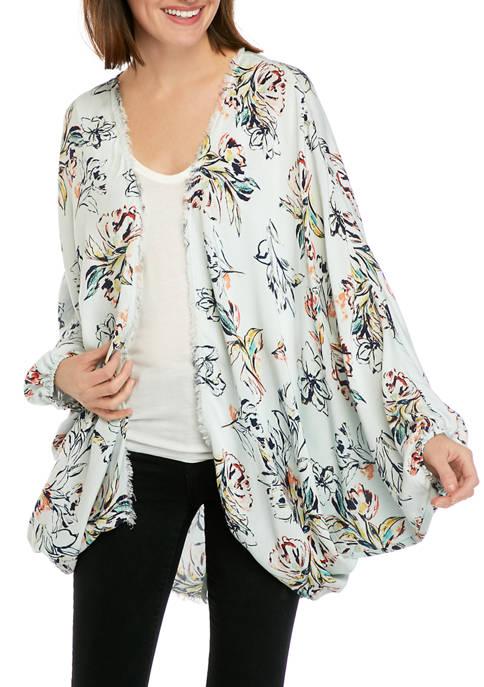 New Directions® Womens Cocoon Kimono