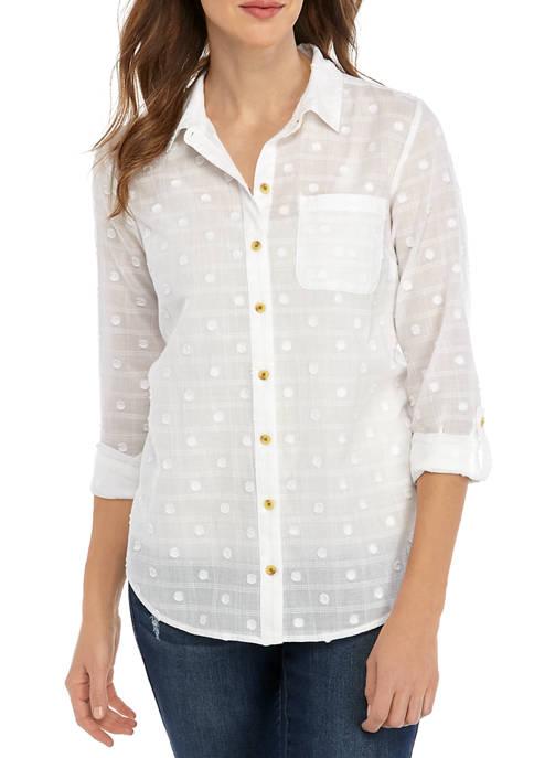 Womens Clip Dot Shirt