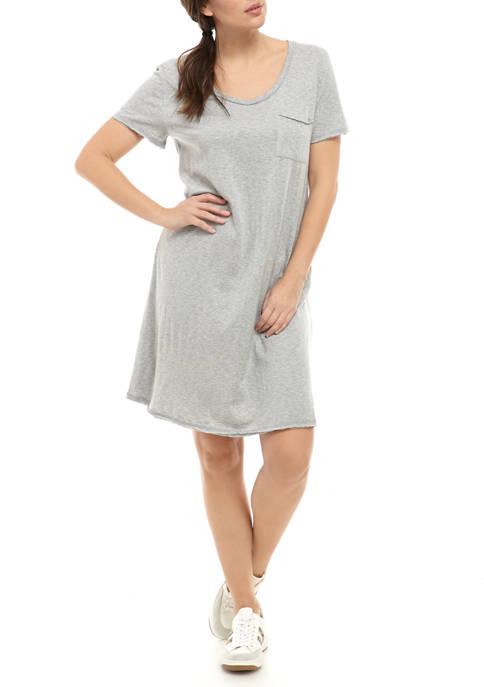New Directions® Womens Short Sleeve V Neck Studio
