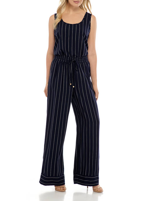New Directions® Womens 2 Piece Stripe Pants Set
