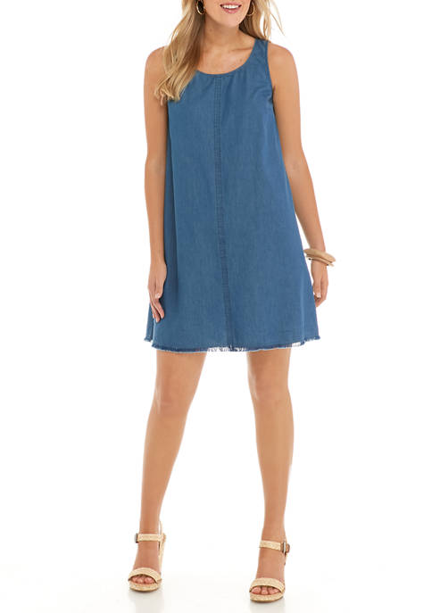 New Directions® Womens Tank Dress