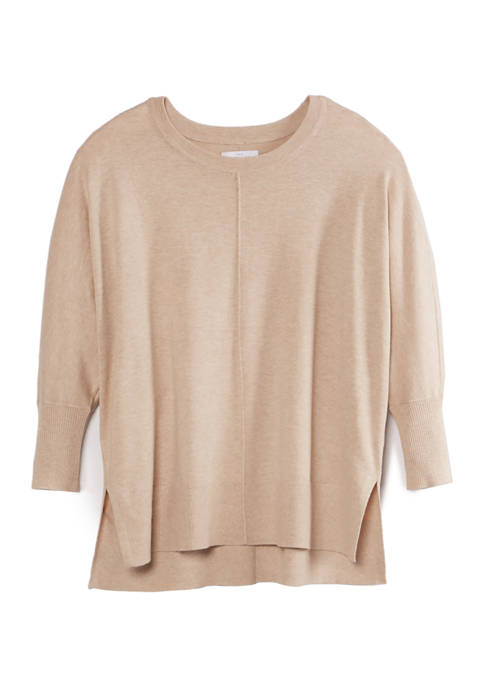 New Directions® Womens Fly Away Dolman Sleeve Top