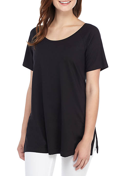 Short Sleeve Solid T Shirt