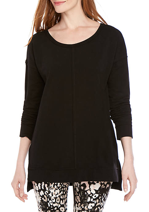 New Directions® Long Sleeve Solid Top