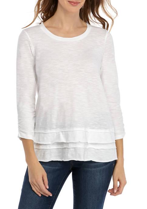 Womens Raw Edge T-Shirt
