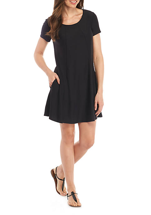 New Directions® Easy Pocket Knit Dress