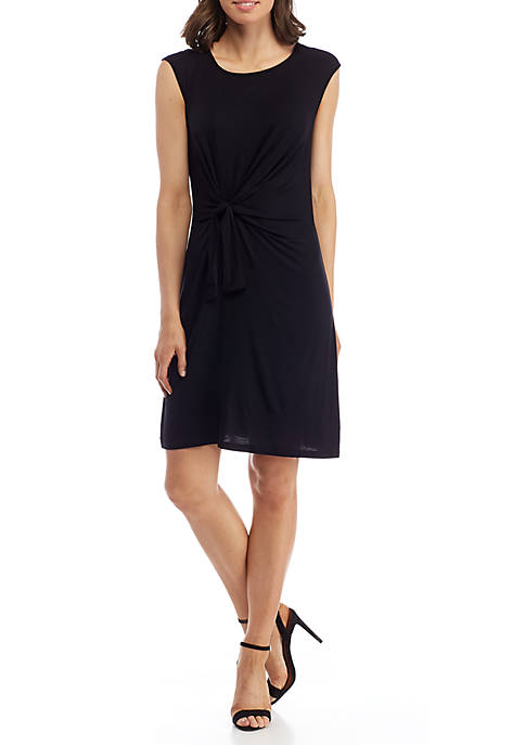 New Directions® Tie Front Knit Dress