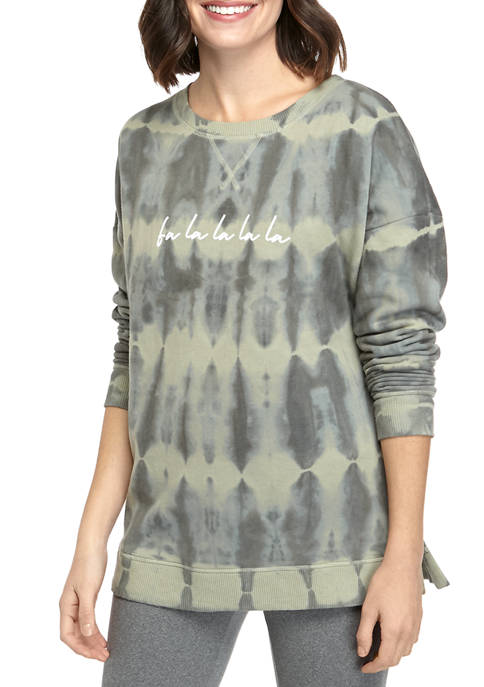 Womens Long Sleeve Graphic Top
