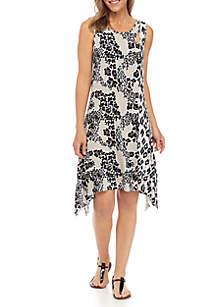 Knit Keyhole Neck Dress