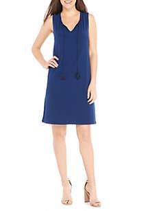 Tasseled Sleeveless Dress