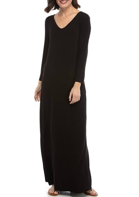 Womens Pieced Long Dress