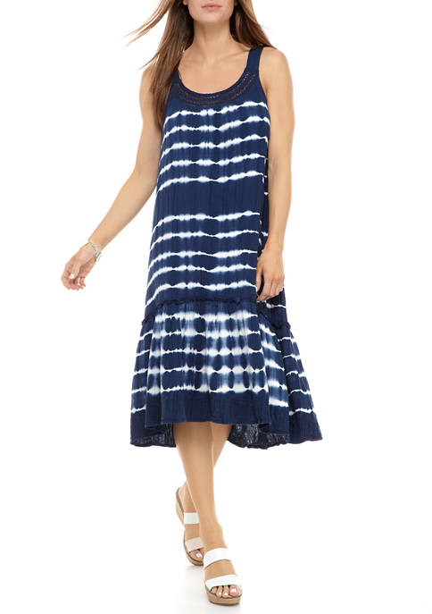 New Directions® Womens Tiered Sundress