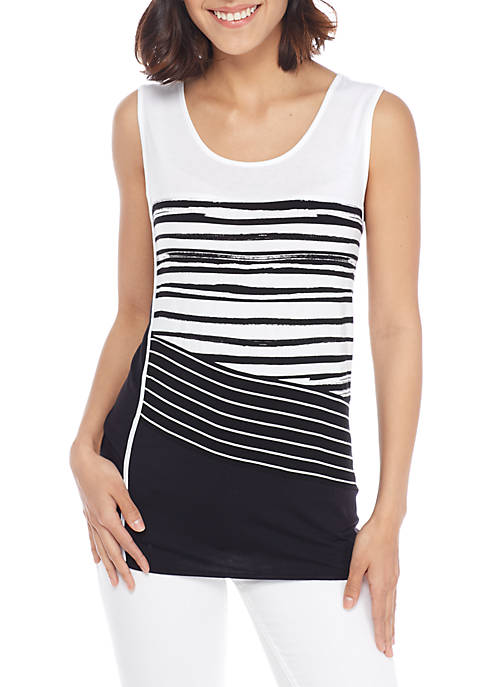 New Directions® Colorblock Tank