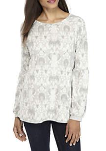 Blouson Sleeve Sweatshirt