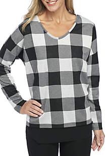 Embellished Dolman Sweatshirt