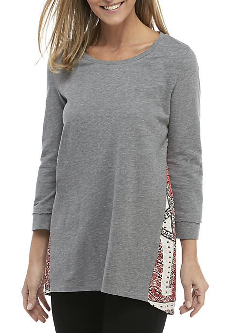 Printed Back Sweatshirt