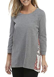 New Directions® Printed Back Sweatshirt