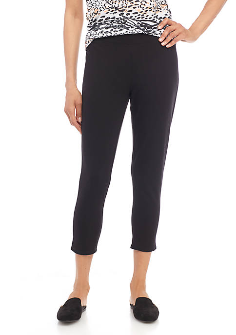 New Directions® Crop Solid Legging