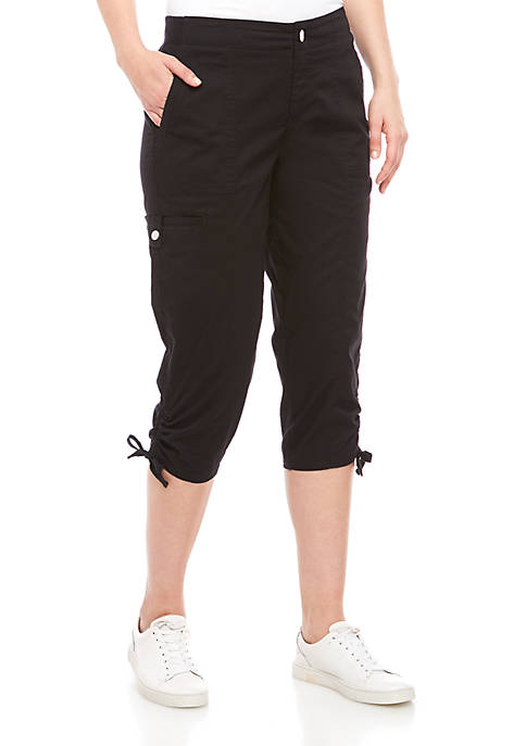 Cargo Cropped Pants