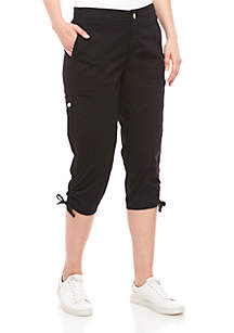 New Directions® Cargo Cropped Pants