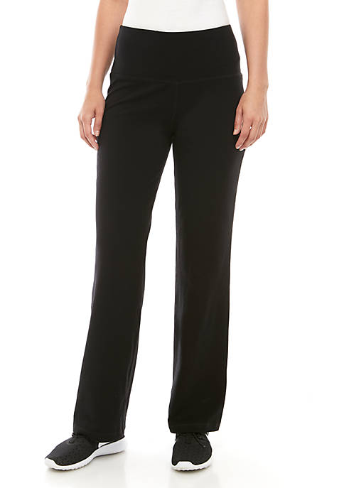 New Directions® Straight Leg Stretch Ponte Leggings