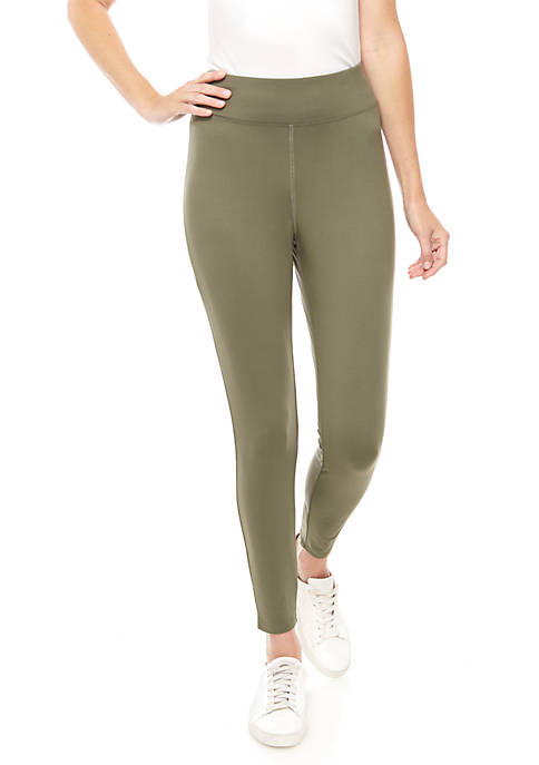 New Directions® Yummy Solid Leggings