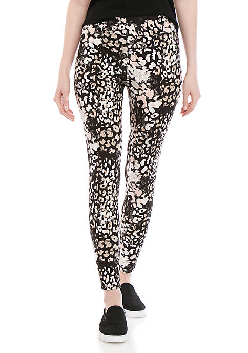 New Directions® Long Printed Leggings