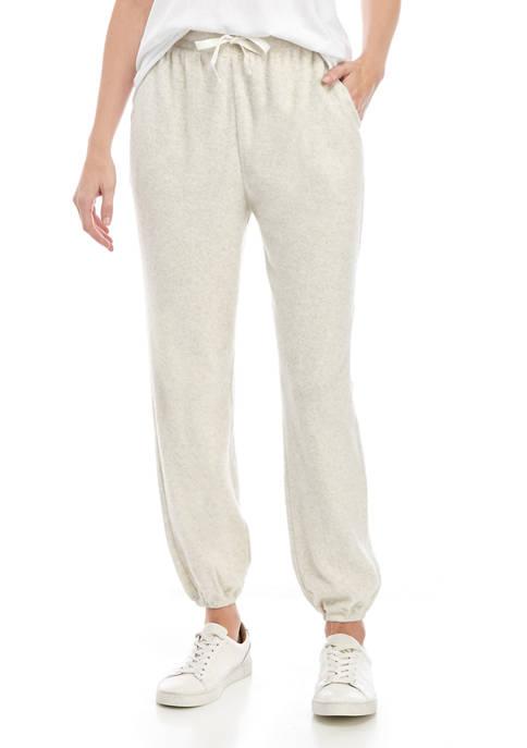 Womens Knit Jogger Pants