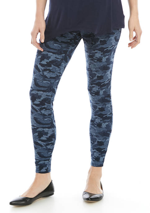 New Directions® Womens Yummy Print Studio Leggings