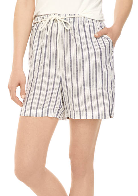 New Directions® Womens Belted Beach Shorts