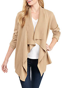 Long Sleeve Solid Cardigan Sweater