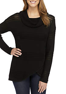 New Directions® Cowl Neck Sweater
