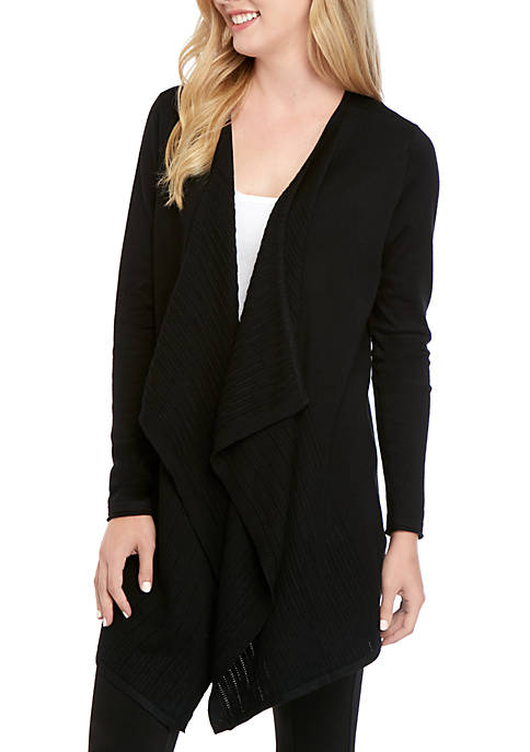 New Directions® Long Sleeve Solid Cardigan