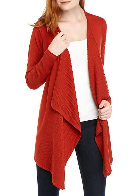 Long Sleeve Solid Cardigan