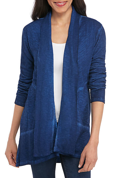 New Directions® Long Sleeve Knit Cardigan