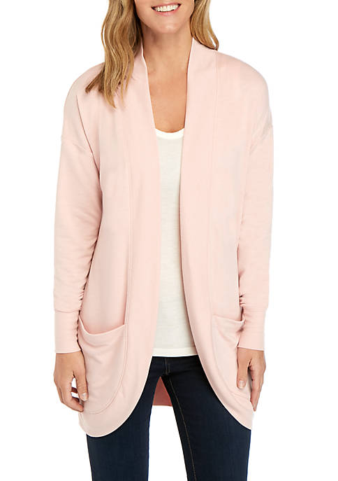 New Directions® Long Sleeve Cocoon Cardigan