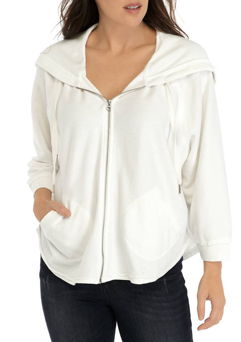 Womens French Terry Zip Hoodie