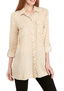Button Front Camp Shirt