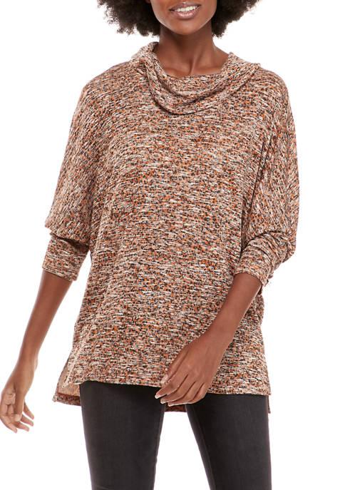 Petite Cowl Neck Sweater